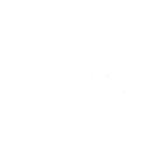 The Cleveland Arms logo, negative (1)